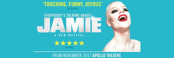 Tickets forEverybody's Talking About Jamie -Apollo THEATRELondon