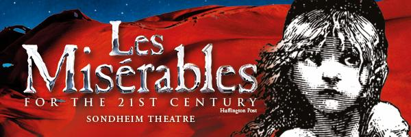 les miserables at queens theatre in london