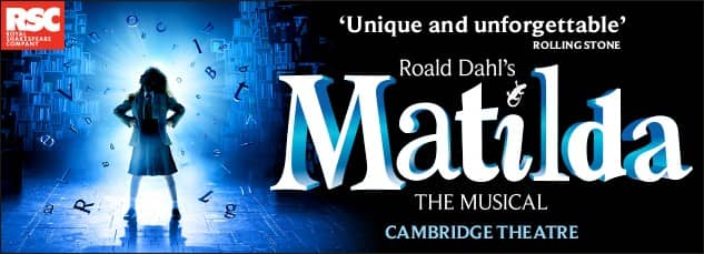 Matilda the Musical for kids